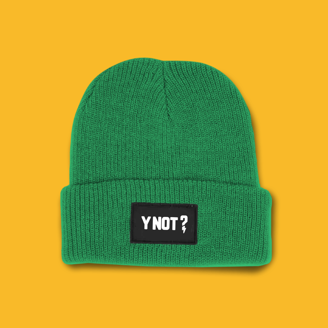 Bag a Y Not beanie this winter ❄️
